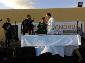 Producción Festivales: Aires Sonoros- Showcooking